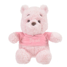 Disney Store Japan Winnie the Pooh Plush Doll Sakura L size Doll Pink - $341.55