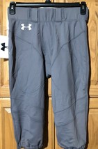 Men's Football Gray Pant UNDER ARMOUR NWT Size Large Authentic - $15.83