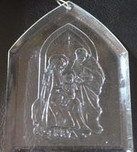 Mary Joseph Jesus Christmas Ornament Prism - $12.59