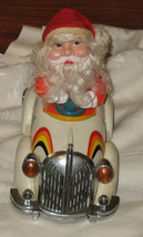 Vintage Santa in Jalopy Yung Lo Toy Battery Operated - $39.99
