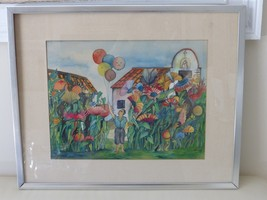 1977 Watercolor Painting Signed by the Artist - $499.00