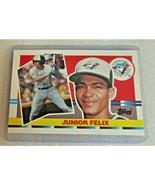 1990 Topps Big Junior Felix #210 Toronto Blue Jays Baseball Card! OF 1st... - $2.61