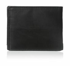 Steve Madden Men's Premium Leather Credit Card Id Wallet Black N80027/08 image 2