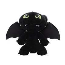30CM How To Train Your Dragon 2 Night Fury Plush Toy Toothless Dragon St... - $22.80