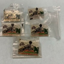 Lot of 5 Parsons Kansas Elks Lodge BPOE 2007 2008 Pins     - $23.47