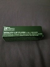 IT Cosmetics Vitality Lip Flush 4-IN-1 Reviver Lipstick Stain Je Ne Sais Quoi - $14.20