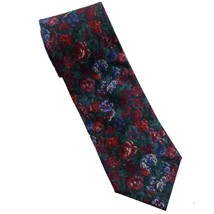 """Brooks Brothers Makers Tie Silk Floral Blue Green Red 60"""" - $16.82"""