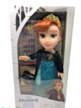 Disney Frozen II Queen Anna Doll 14in Ionic Outfit Shoes Tiara Frozen Princess - $14.30
