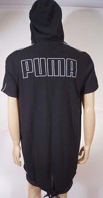 9d0490173bc Puma TL31680 Men's Black 2 in 1 Xtreme Short Sleeve Jacket Hoody Hoodie M