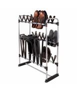 NEW 24 Pair Shoe Storage Rack 3 Pair Boots Rain Tall Boot Organizer Clos... - $59.30