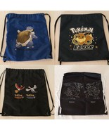 Pokemon Go String Bag Choice Drawstring Backpack Tote Bag POP Organized ... - $14.99+