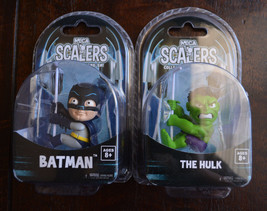 Lot of 2: NECA Scalers Batman & The Hulk - $9.49
