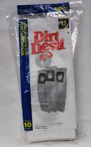 Dirt Devil Type U Upright Paper Vacuum Bags 10 Pack 3-920048-001 - $13.46