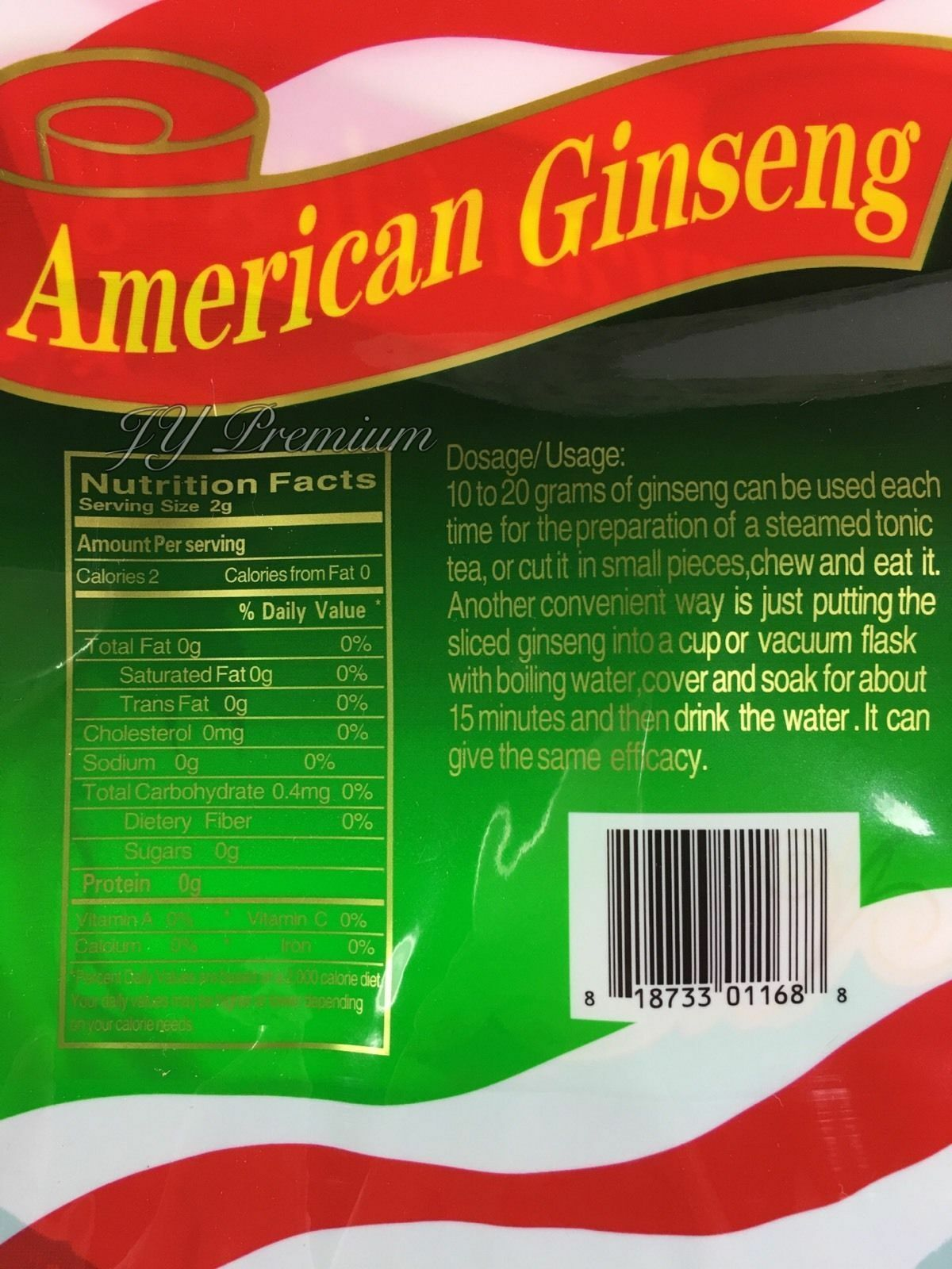 100% Extra Large American Ginseng Root, Main Root, Ultra Quality (4oz/8oz/16oz) image 3