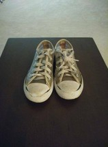 Converse All Star Low Top Clear/White Toddler Chuck Taylor Sneakers Sz 12 - $3.00