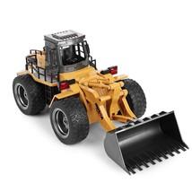 RC Bulldozer 6CH Remote Control Simulation Truck Construction Model Vehi... - $57.93