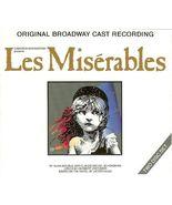 Les Misérables Original Broadway Cast Recording (CD, 1991, 2-Discs) - $8.95