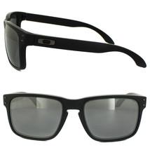 Neuf Oakley Sport Holbrook Mat Noir avec / Noir Iridium Polarisé Oo9102-62 - $137.12