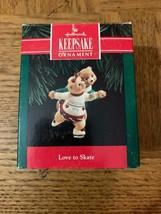 Love To Skate Christmas Ornament - $29.58