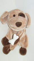 Gund Playful Puppets No bones about it puppy dog Plush Puppet tan brown ... - $14.84