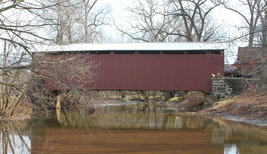 Bucher's Mill Covered Bridge 13 x 19 Unmatted Photograph - $35.00