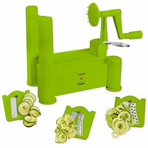 Brieftons Tri-Blade Spiralizer: Strongest-and-Heaviest Duty Vegetable Sp... - €20,88 EUR