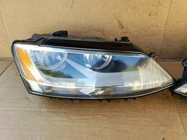 2011-18 Volkswgen Jetta Halogen Headlight Head lights Lamps Set L&R image 2