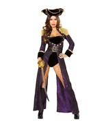 Women's Adult Pirate Costume Sexy Medieval - $138.00