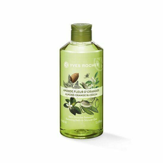 Yves rocher Relaxing ,Bath & Shower gel New 400 ML - 2 Pack Olive Petitgrain - $29.99