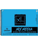 Canson XL Series Mix Media Paper Pad, Heavyweight, Fine Texture, Heavy S... - $26.00