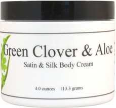 Green Clover and Aloe Satin and Silk Cream - $10.66+
