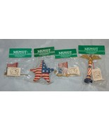 Midwest of Cannon Falls Lot of 4 Patriotic Ornaments (Brand New) - $17.82