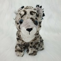 "8"" Wildlife Artists Snow Cub Leopard Conservation Critters Plush Lovey T... - $11.99"