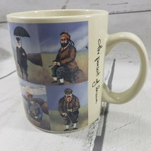 California Pantry Mug Classic Ceramics Guy Buffet Golf The Pursuit of Le... - $24.94