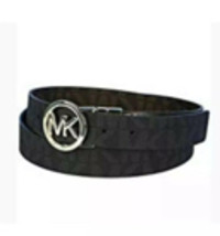 Michael Kors Women's Signature Reversible Circle MK Logo Belt 551342 UNISEX - $33.75