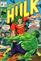 Incredible Hulk, The #141 VG; Marvel | low grade comic - save on shippin... - $92.99