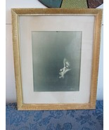 "Vintage African American Child Crying Framed Matted Lithograph Print 18""... - $48.52"