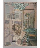 American Artist - December 1984 - Peter Poskas, Bruce Cody, Pen & Ink Dr... - $3.91