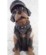 "Ceramic Rottweiler Dog Figurine 12"" Tall - $29.95"