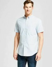 Goodfellow & Co Men's Short Sleeve Poplin Button-Down -SLIM FIT- various sizes image 1