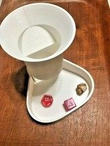 Dice Tower - Funnel Shape - Dice Tray Removable Bottom - Plastic - $18.95