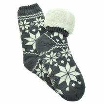 Angelina Women's 3 Pack Christmas Sherpa Lined Thermal Socks with Gift Tags image 4