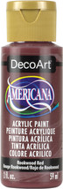 Americana Acrylic Paint 2oz-Rookwood Red - Opaque - $15.00