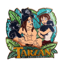 Tarzan Disney Lapel Pin: 20th Anniversary - $49.90