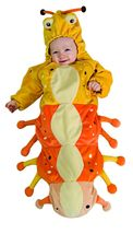 Caterpillar Baby Bunting Halloween Costume 0-9 Months - $25.00