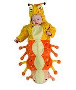 Caterpillar Baby Bunting Halloween Costume 0-9 Months - $25.00