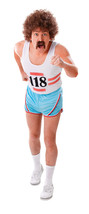 Men's 70's Running Vest & Short Costume #cbf - $26.29