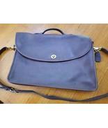 Vintage Coach Burgundy Leather Women's Briefcase - $75.00