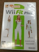 Wii Fit Plus (Wii, 2009) with Case Tested - $9.45