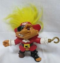 "Hasbro Captain Pirate Troll doll  5"" Yellow hair - $10.00"